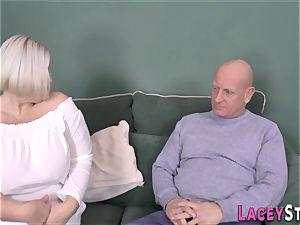 boob fucking british granny