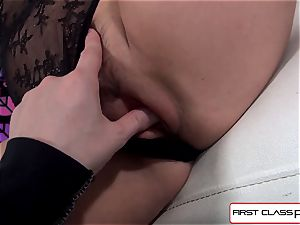 Aaliyah love fellates and poke a massive man-meat in point of view fashion