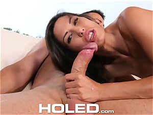 HOLED ass-hole toy gusto and anal boinking