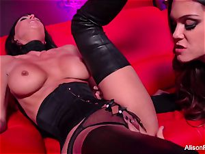 crimson apartment and molten strap-on act