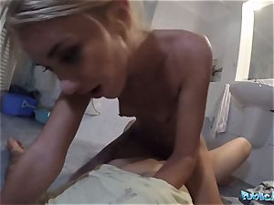 Public Agent Katrin Tequila is so sumptuous he plows her