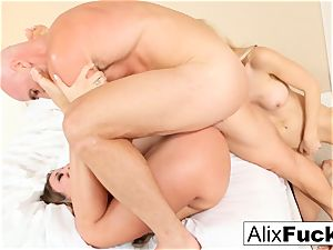 red-hot 3-way with Alix, Kissa, and Johnny