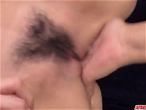 Ryu Enami gets enldess knob to destroy her vulva