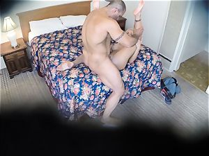 horny Nina Elle plumbs her fellow at the hotel