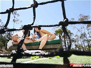 two latin twin step-sister with large butts get boinked 3 way