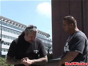 cockblowing amsterdam call girl satisfies tourist