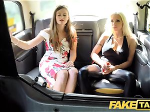 fake cab teaching the new chick taxi driver