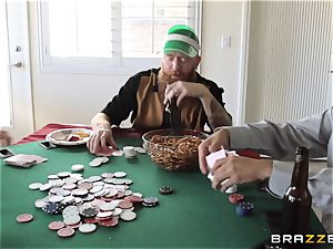 Sarah Jessie nailing her husbands poker pal
