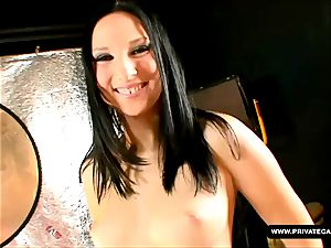 Lee Dia and Nicole Evans giving pov fellate audition