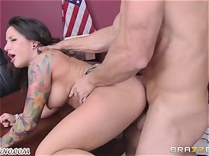 horny schoolgirl gets pounded by her tutor Johnny Sins