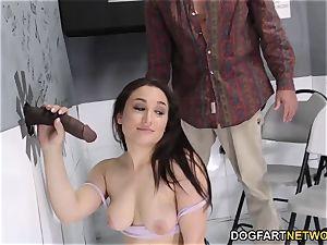 Gabriella Paltrova prepares for buttfuck - Gloryhole