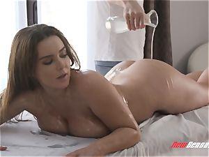 Natasha nice gonzo yam-sized hooter rubdown