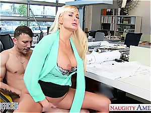 Summer Brielle at the office down for a great bang-out