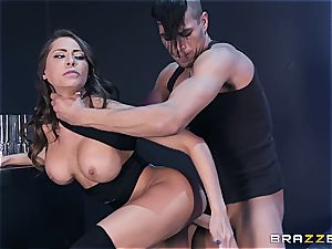 Xander Corvus' bone plays guitar and plows huge-boobed music producer Madison Ivy