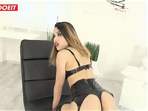 wonderful Latina gets hard-core assfuck fuck-a-thon from fat bone dude