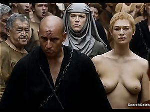 Lena Headey bares her bare assets in Game of Thrones