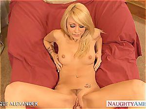 warm porn industry star Monique Alexander humping