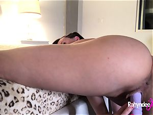 Rahyndee James white-hot cootchie have fun With dildos