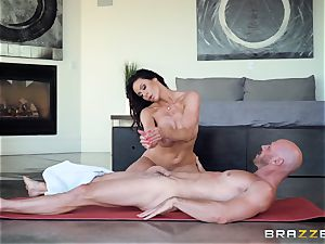 Kendra enthusiasm beaten after super-fucking-hot massage