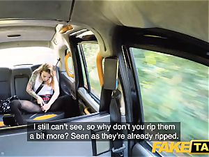 fake taxi petite Kylie Nymphette puss poked