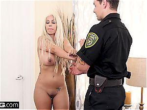 On 4th of July Bridgette B pounds a cop