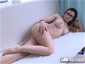 epic Mira cheating Agrees to her very first pornography Shoot