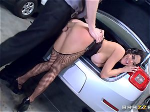 kinky mature Veronica Avluv leaned over and drilled