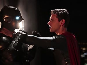Alison Tyler romps two kinky superheroes