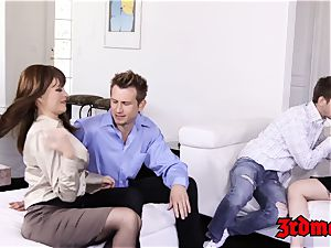 big-titted mummy 4 way nailing until climax