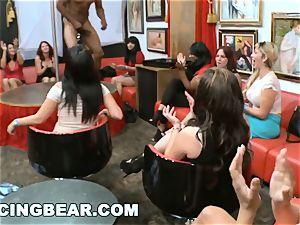 DANCINGBEAR - meaty man meat male Strippers Crashing the club