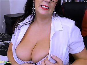 OldNannY immensely big-chested Mature Lulu Showoff