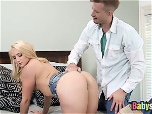 insane blond sitter AJ Applegate Gets drilled