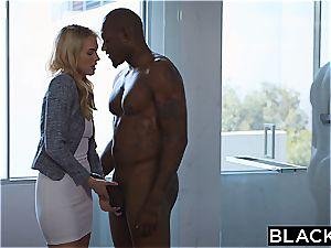 BLACKED Keira Nicole Takes Her very first big ebony manstick