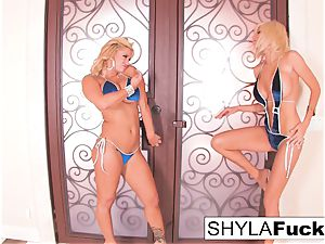 steamy glamour bang-out with Shyla and Puma