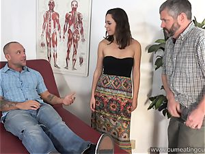 Jade Nile Has Her spouse deep-throat meatpipe and see Her