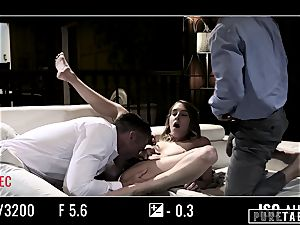 pure TABOO honey Tricked Into vengeance three-way with Strangers