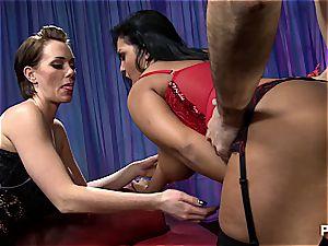 ass fucking fun with mega-curvy Jasmine
