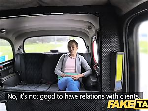 fake taxi lovely puny teen gets free ride