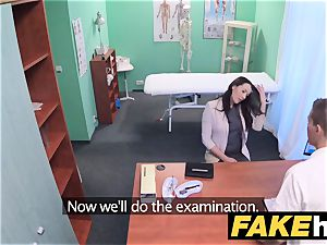 faux health center frisky clean-shaved twat Russian stunner