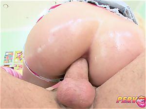 PervCity Shay hard anal wife
