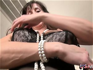 USAwives slim Lusty Mature hard-core style fuck-fest Footage