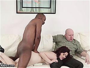 fuckpole depraved Jessica cuckolds her hubby with a bbc