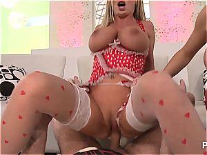 gonzo threesome w. Jenna & Nikki